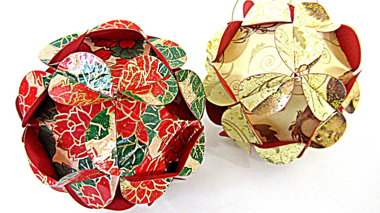 c mo hacer adornos esferas de navidad christmas