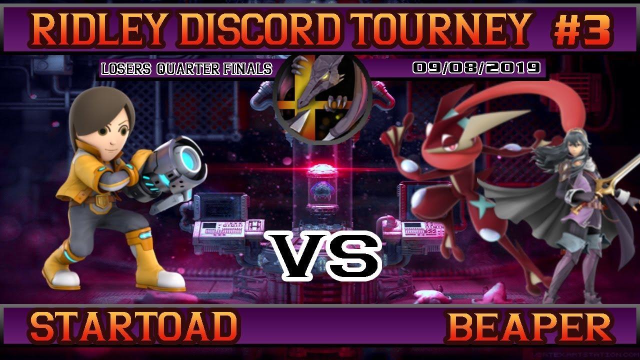 Download Ridcord WiFi Tourney #3 (L.Quarters) - StarToad vs Beaper [Smash Ultimate]