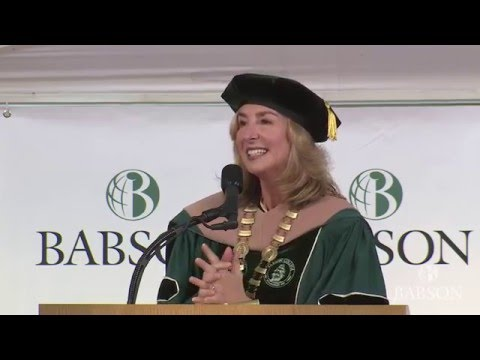 Babson College's 2016 Undergraduate Commencement Ceremony