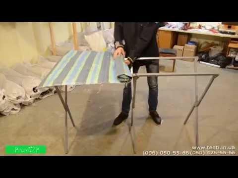 Как собрать стол для торговли. Купить торговый стол в Украине.