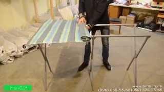 Как собрать стол для торговли. Купить торговый стол в Украине.(Как собрать стол для торговли? Именно этот вопрос часто возникает у наших клиентов. Поэтому мы сняли подроб..., 2015-02-11T13:16:19.000Z)