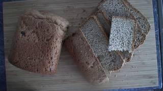 Рецепт: Хлеб ржано-пшеничный с жареным луком и тмином