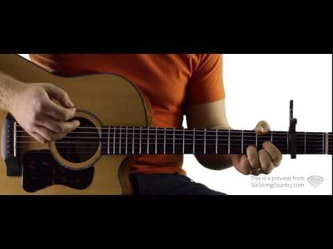 Roll On (Eighteen Wheeler) - Guitar Lesson and Tutorial - Alabama