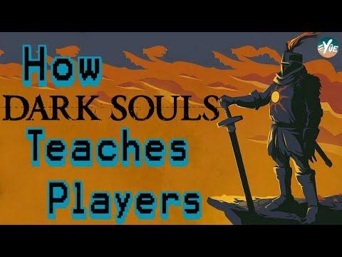 How Dark Souls teaches new players (Supercut)