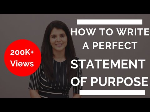How To Write A Perfect Statement of Purpose (SOP / Admissions Essay) | ChetChat MasterClass