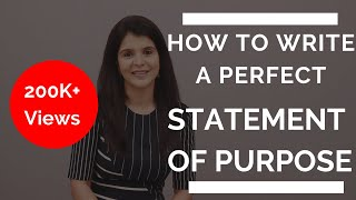 How To Write A Perfect Statement Of Purpose  Sop / Admissions Essay    Chetchat Masterclass