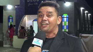 Gilberto Cunha, na inauguração da Igreja Gran Ville Setor O