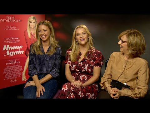 HOME AGAIN - Interview - 5 Minutes with Reese, Hallie and Nancy