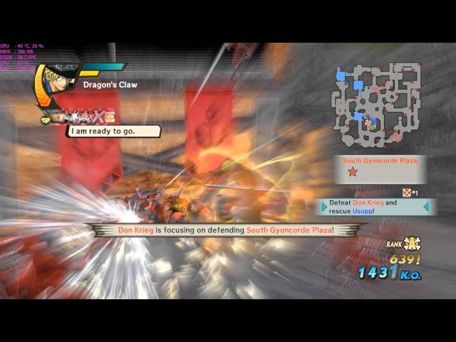 One Piece: Pirate Warriors 3 On Hd 7850 1gb + Fx 4300 Be (max Settings 1920 X 1080)