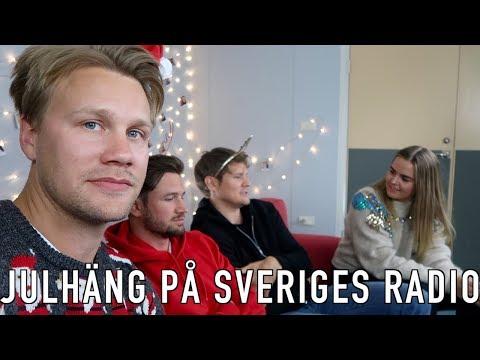 Julhäng på Sveriges Radio (VLOGG #19)