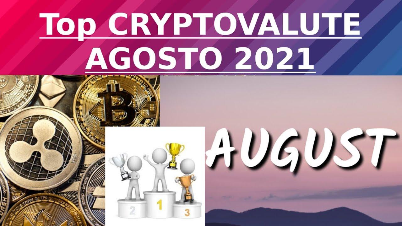 criptovalute su cui investire agosto 2021