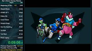 [World Record] Sly 3: Honor Among Thieves speedrun in 6:33:06