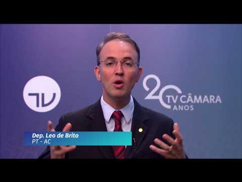 20 Anos TV Câmara: deputado Leo de Brito (PT-AC)