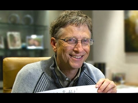 Bill Gates On 'The Giving Pledge' & Philanthropy | EXCLUSIVE