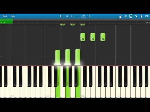 ILOVEMAKKONEN ft. Drake - Tuesday - Piano Tutorial - Synthesia - How To Play