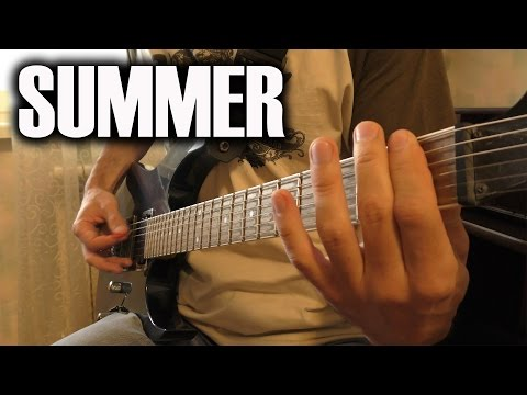 Marshmello - Summer (Guitar Cover)