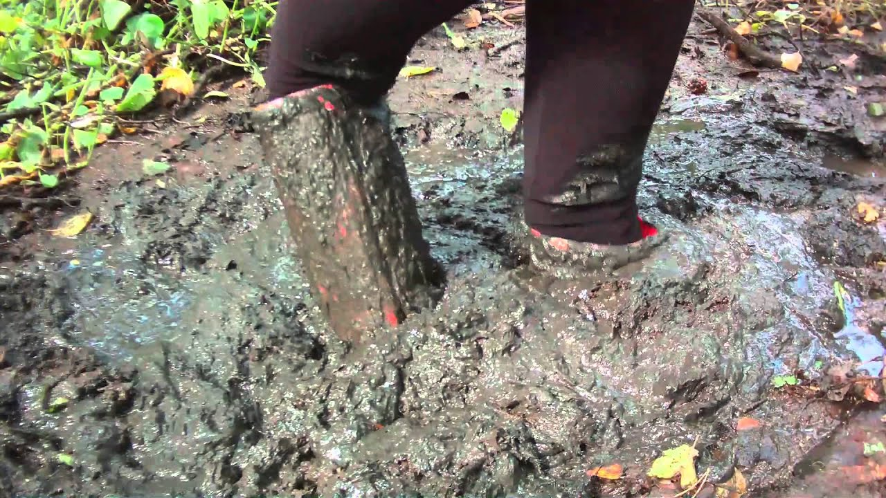 Image result for rubber boot stuck in mud
