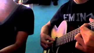 Đợi em về (guitar cover) Rio & Nier