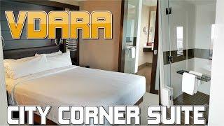 Vdara, Las Vegas - City Corner Suite - Full Room Tour (2017)