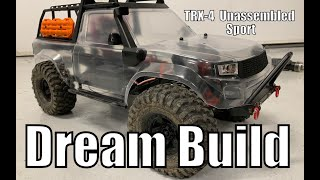 Traxxas TRX-4 Sport Best Dream Build - putting the mods that make sense while looking stock.