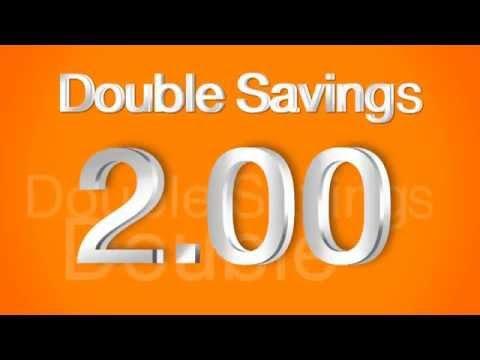 โครงการเงินฝากออมทรัพย์ Double Savings