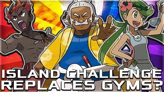 GYMS BEING REPLACED WITH ISLAND CHALLENGE IN POKEMON SUN AND MOON?! TOTEM POKEMON, TYPINGS AND MORE!