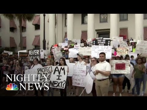 Kids Flock To Florida State Capitol To March For Gun Reform   NBC Nightly News