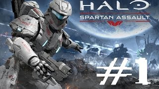 Halo Spartan Assault Gameplay Playthrough Walkthrough - Part 1