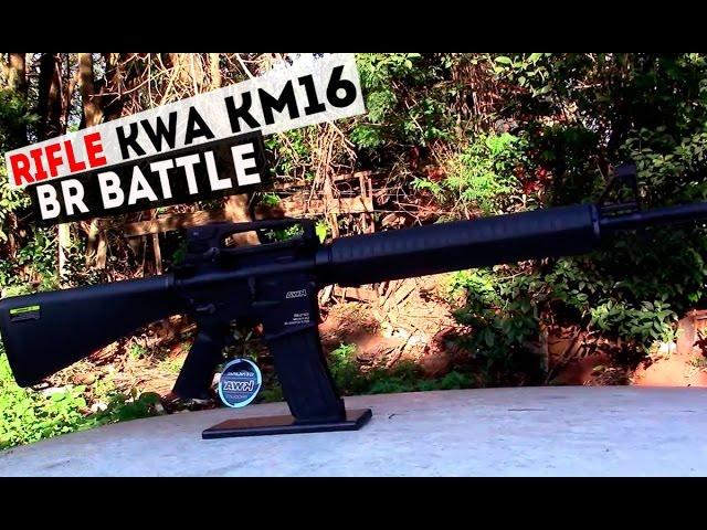Airsoft KWA M16: Ideal para você fazer um rifle de DMR - Airsofts
