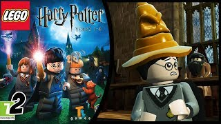 HARRY POTTER LEGO - Anno 1 [Gameplay Walkthrough ITA HD] #2 - LA NOSTRA PRIMA MAGIA