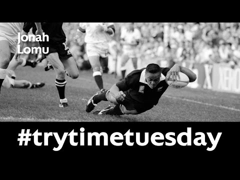 BEST TRIES: Jonah Lomu stars at 1995 Rugby World Cup