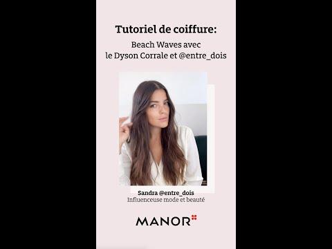 Tutoriel: Look beach wave avec Sandra Pinto @entre_dois et Dyson Corrale™