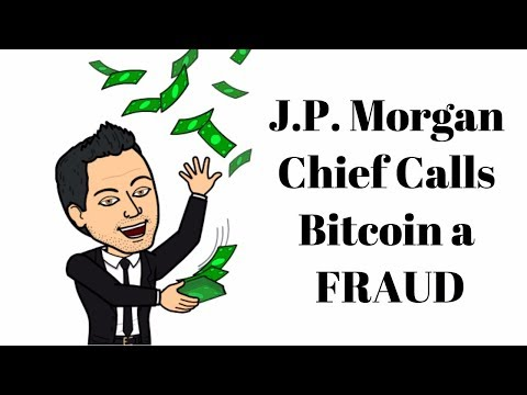 J.P. Morgan Chief Calls Bitcoin A Fraud - Barchart Launching Cryptocurries
