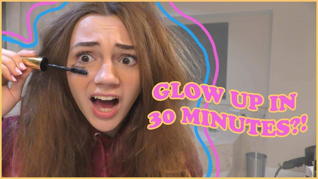 CAN I GLOW UP IN LESS THAN 30 MINUTES?!?! | Kayla Davis