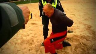 Taser use in real life police Lithuania