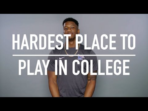 Players' Voice: Toughest College Environments