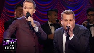 Repeat youtube video Broadway Riff-Off w/ Neil Patrick Harris