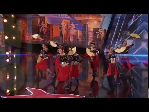 America's Got Talent 2018 Neo Geisha Auditions 3