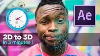 How to Make 2D image to 3D in 3 MINUTES ! - After Effects & Volumax TUTORIAL