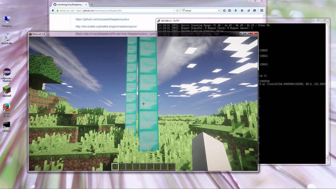 Programming Minecraft With Python YouTube - Minecraft server range erstellen