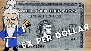 Amex Announces New 5X Points Travel Category (Amex Platinum)