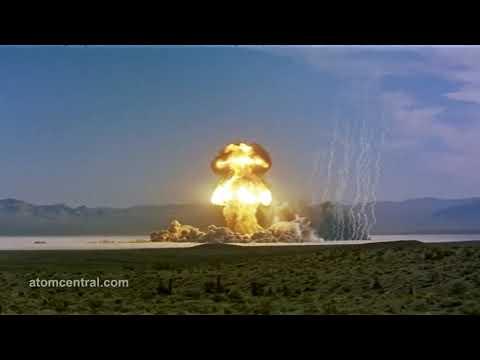 Ядерные взрывы со звуком