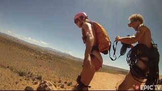 BASE Jump Nudity, Skimming Trees & Near Parachute Collisions | Sketchy Andy