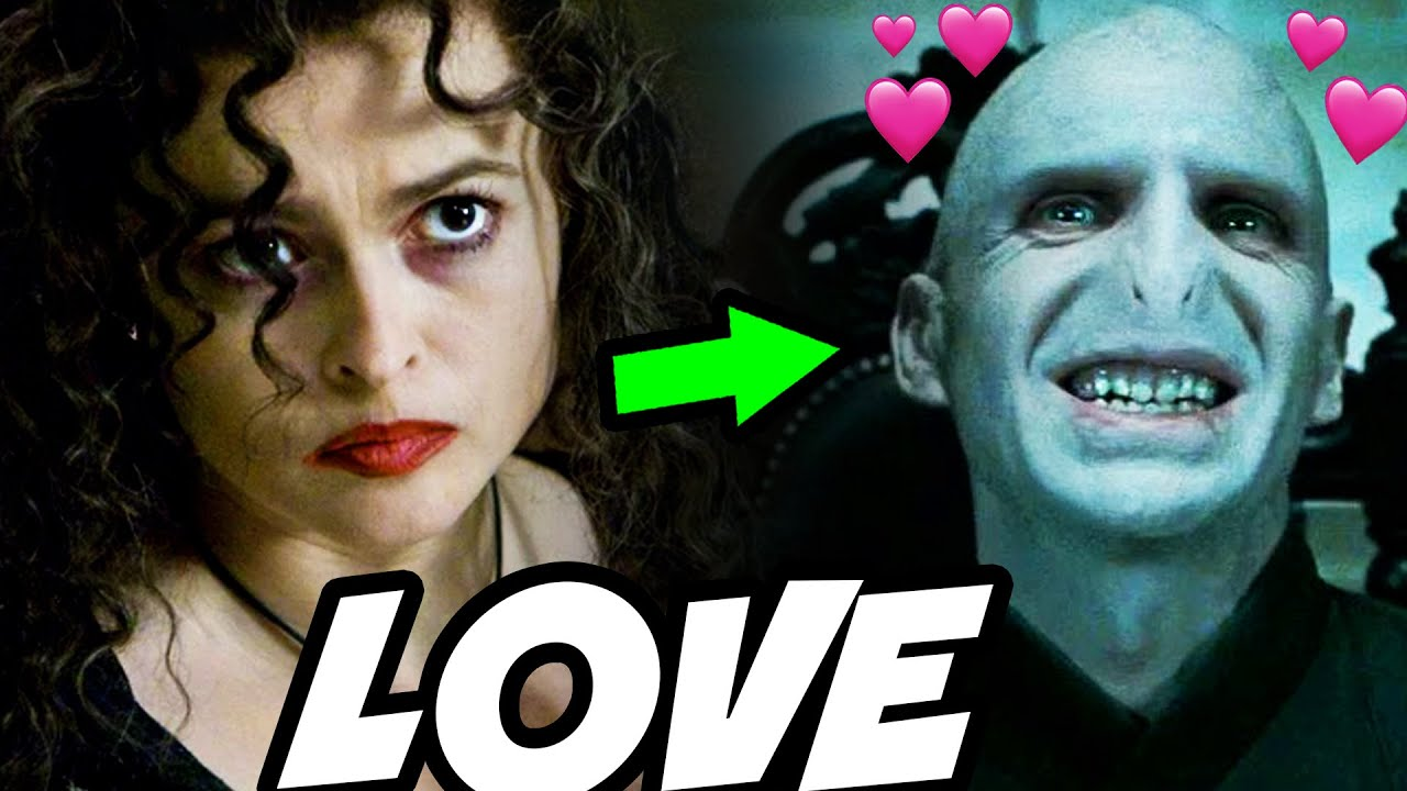Bellatrix Used a Love Potion on Voldemort - Harry Potter Theory