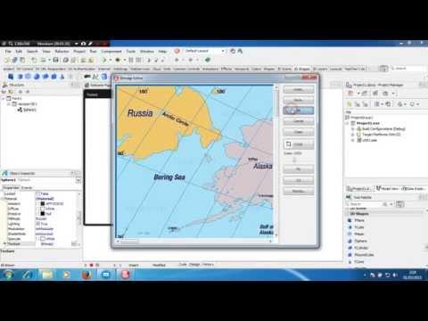 Delphi XE2 Animation Globe