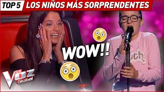 Download Los niños MÁS SORPRENDENTES de La Voz Kids Mp3 and Videos