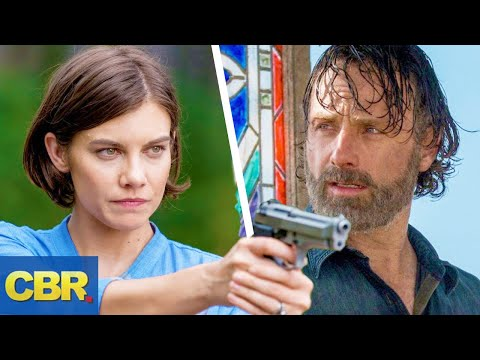 This Is How Rick And Maggie Will Leave The Walking Dead After Season 9