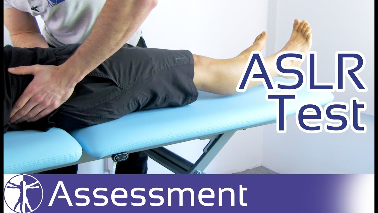 Active Straight Leg Raise Test | Sacroiliac & Pelvic