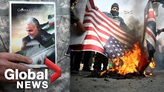 """""""Death to U.S."""" Anger in Tehran following targeted killing of top Iranian commander"""