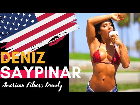 Deniz Saypinar | Hot Body Builder |Top American | Most Sexy Fitness Model | Fit&Hot Girls❤